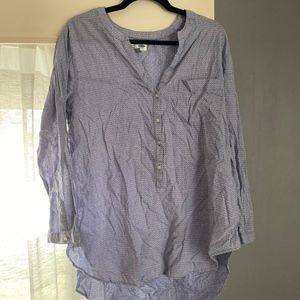 Old Navy - navy patterned tunic
